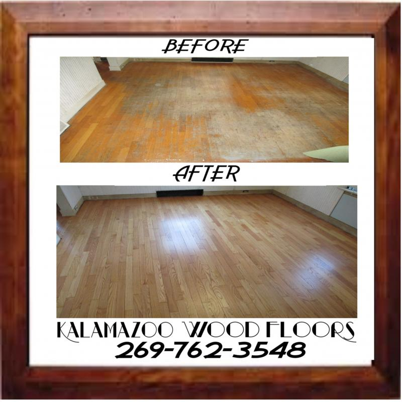 Wood Floor Refinishing at its finest! - Kalamazoo Wood Floors - FREE ESTIMATES! YES! WE REFINISH ANDSAND